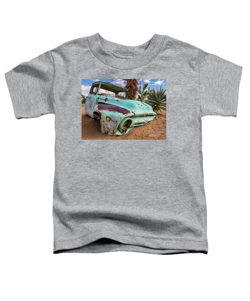 Old And Abandoned Car 7 In Solitaire, Namibia Toddler T-Shirt