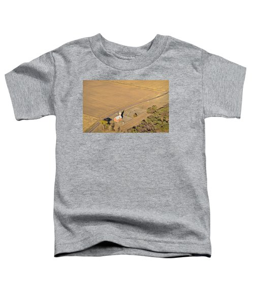 Toddler T-Shirt featuring the photograph Old Country Church by Carl Young