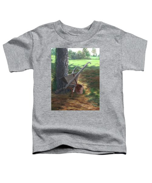 Old Farm Seeder, Louisiana Toddler T-Shirt
