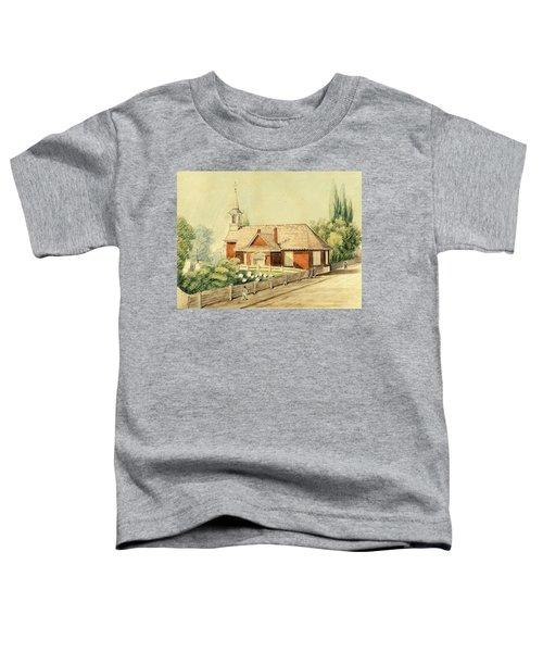 Old Swedes' Church, Southwark, Philadelphia Toddler T-Shirt