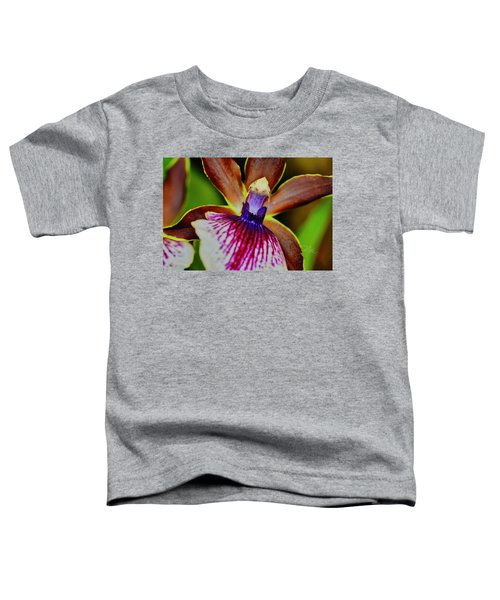 Orchid Study Two Toddler T-Shirt