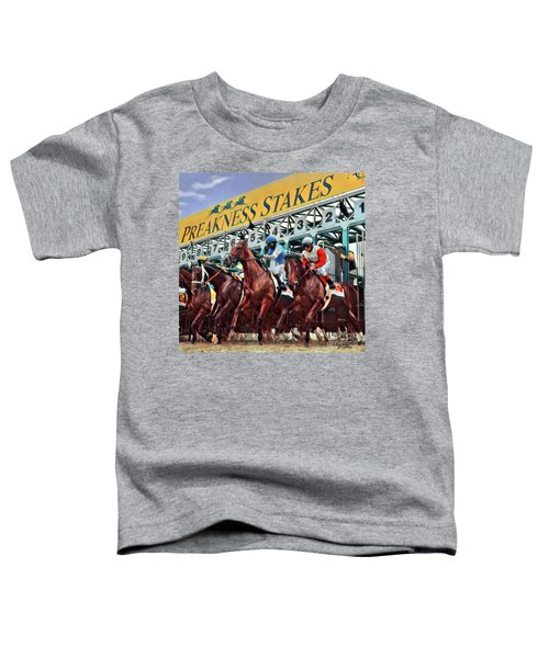 Out Of The Gate Toddler T-Shirt