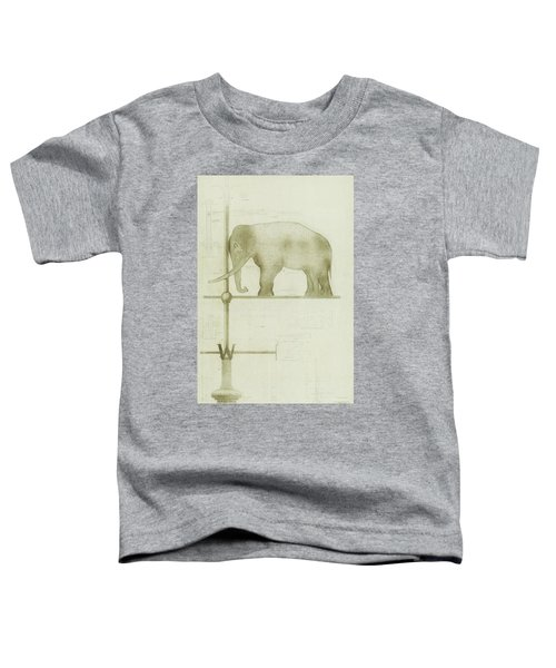 Pachyderm House, Philadelphia Zoo, Detail Of Weather Vane Toddler T-Shirt