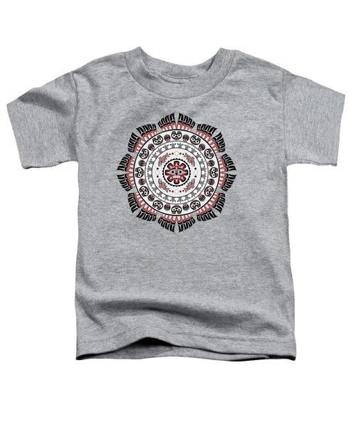 Pacific Northwest Native American Art Mandala Toddler T-Shirt