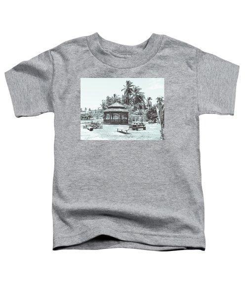 Pagoda On The Sea Toddler T-Shirt