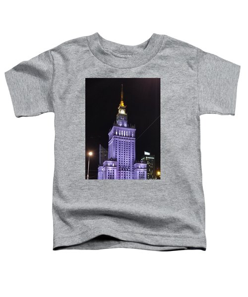 Palace  Of Culture And Science  Toddler T-Shirt