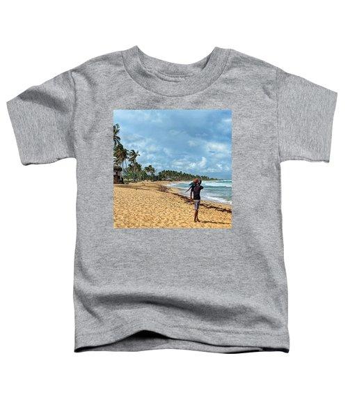 Palm Tree Paradise Toddler T-Shirt