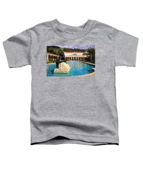 Pano View Getty Villa Awesome  Toddler T-Shirt