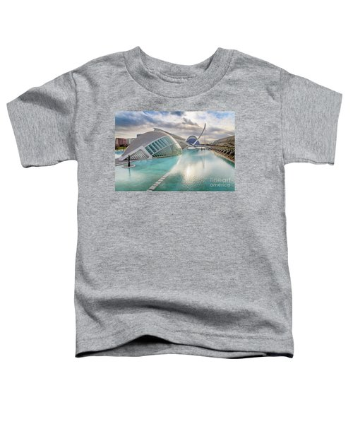 Panoramic Cinema In The City Of Sciences Of Valencia, Spain, Vis Toddler T-Shirt