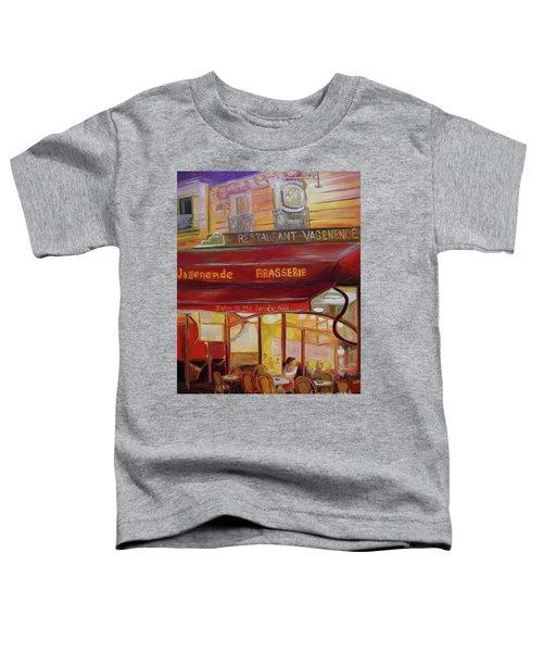 Paris Night Toddler T-Shirt