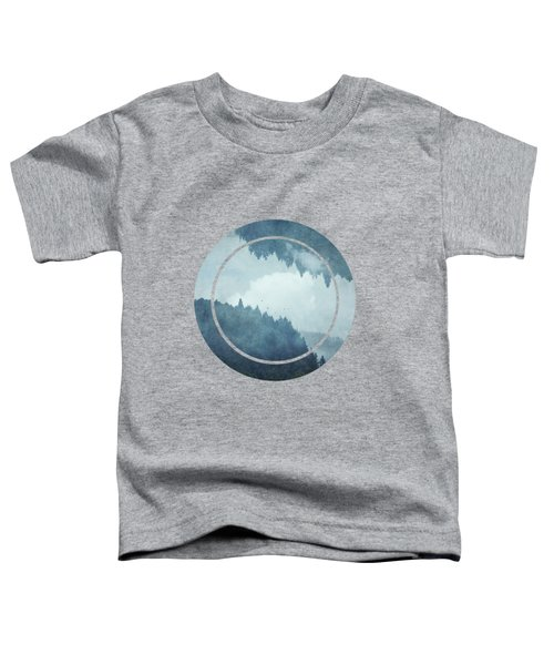 Passing Days - Misty Blue Mountains Toddler T-Shirt