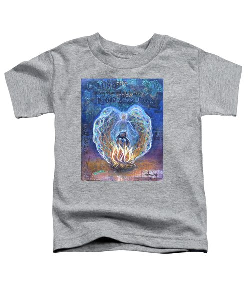 Peacock Angel Toddler T-Shirt