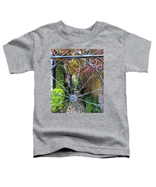 Peek-a-boo Garden Toddler T-Shirt