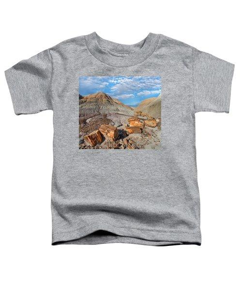 Petrified Logs, Blue Mesa, Petrified Toddler T-Shirt