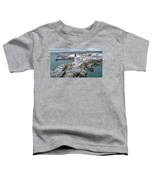 Picturesque Maine  Toddler T-Shirt
