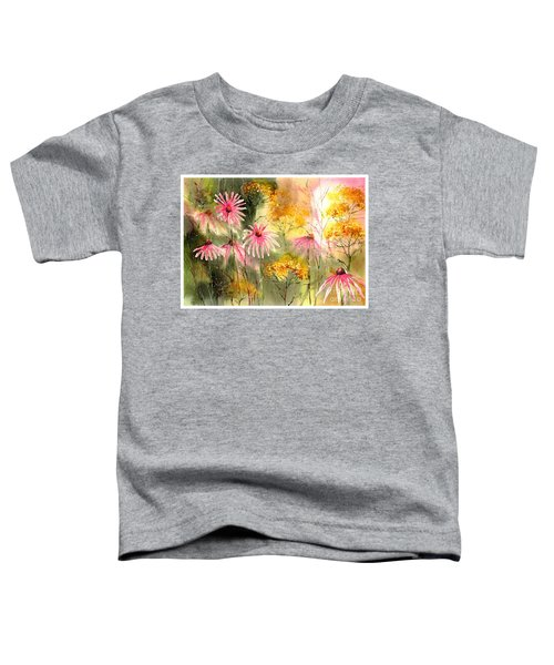 Pink And Gold Toddler T-Shirt