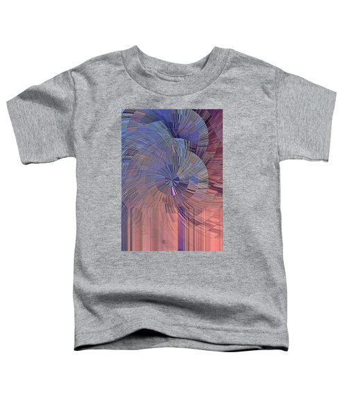 Pink, Blue And Purple Toddler T-Shirt