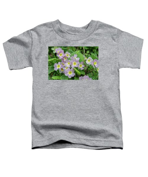 Pink Primroses In Devon Toddler T-Shirt