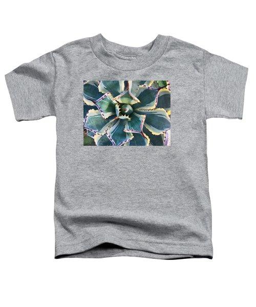 Pinwheel Succulent Toddler T-Shirt