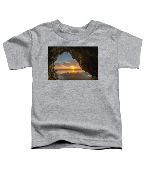 Pismo Caves Sunset Toddler T-Shirt