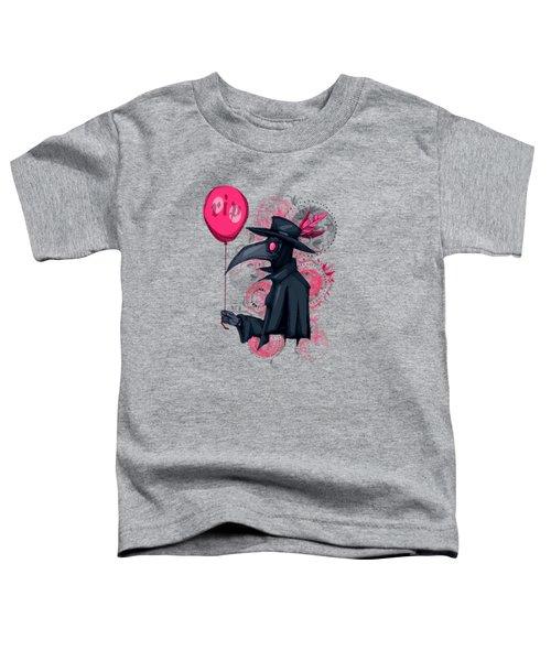 Plague Doctor Balloon Toddler T-Shirt