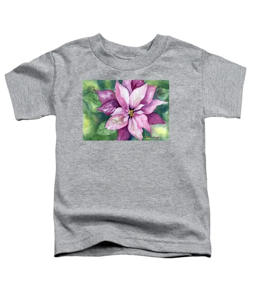 Poinsettia Toddler T-Shirt