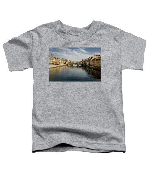 Ponte Vecchio Toddler T-Shirt