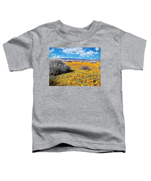 Poppy Patch - California Toddler T-Shirt
