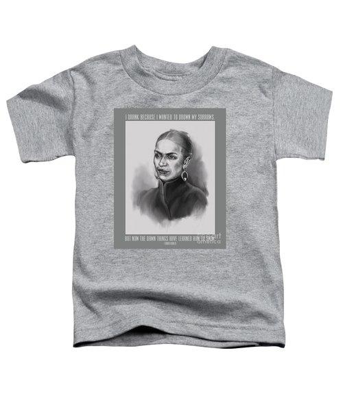 Portrait Of Frida Kahlo Toddler T-Shirt