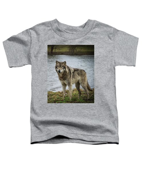 Posing By The Water Toddler T-Shirt