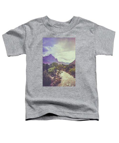 Postcard Image Toddler T-Shirt