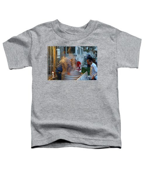 Preparing Dishes For Passover Toddler T-Shirt