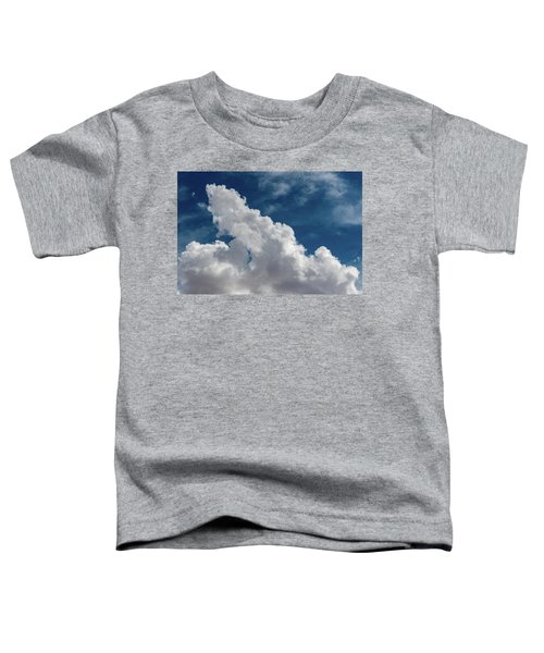 Puffy White Clouds Toddler T-Shirt