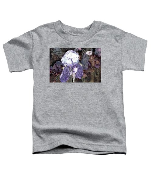 Purple Bearded Iris Toddler T-Shirt