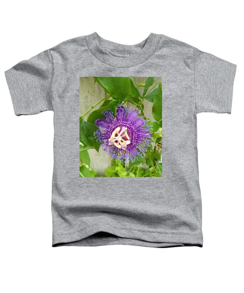 Purple Passionflower Toddler T-Shirt