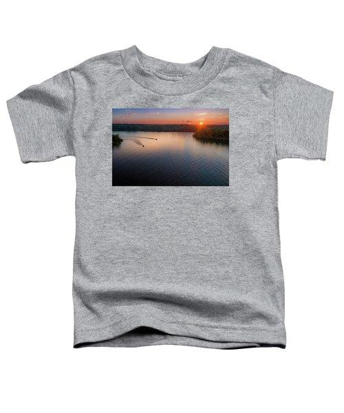 Racing The Sun Toddler T-Shirt