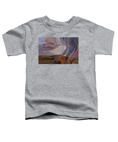 Rainbow Of Rain Toddler T-Shirt