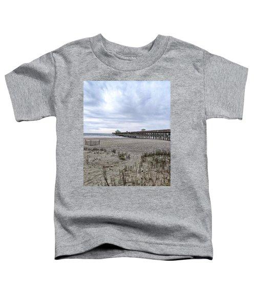 Rainy Beach Day Toddler T-Shirt