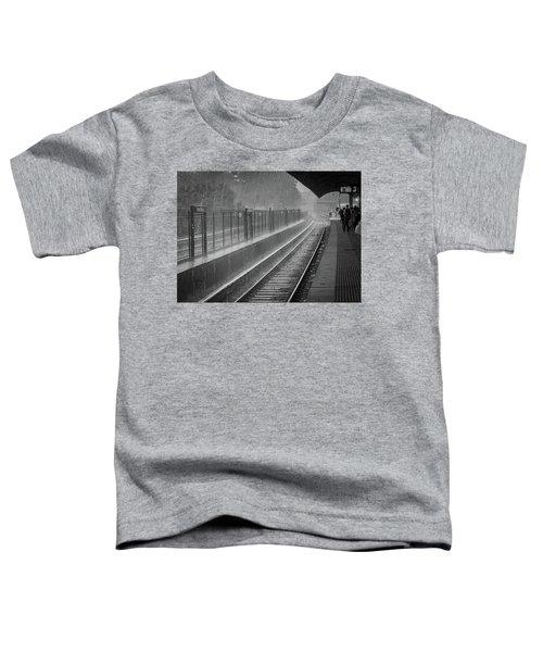 Rainy Days And Metro Toddler T-Shirt