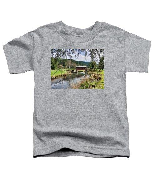 Ranch Hills Covered Bridge Toddler T-Shirt