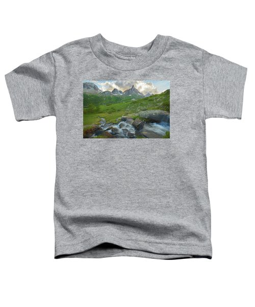 Range In The Claree Valley II Toddler T-Shirt