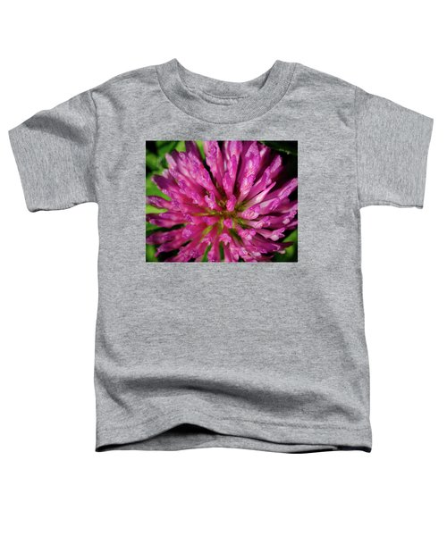 Red Clover Flower Toddler T-Shirt