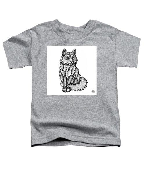 Red Fox Toddler T-Shirt