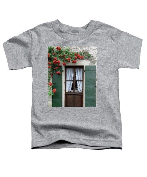Red Rose Door Toddler T-Shirt