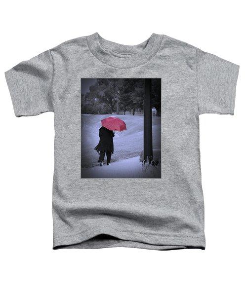 Red Umbrella Toddler T-Shirt