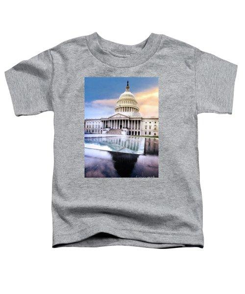 Reflecting Pool Toddler T-Shirt