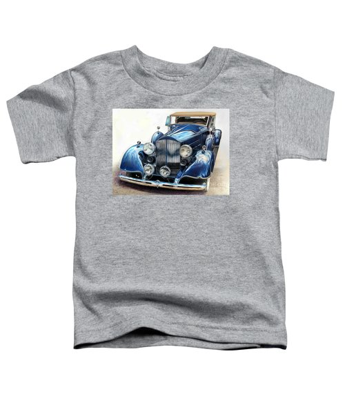 Reflection On Blue Toddler T-Shirt