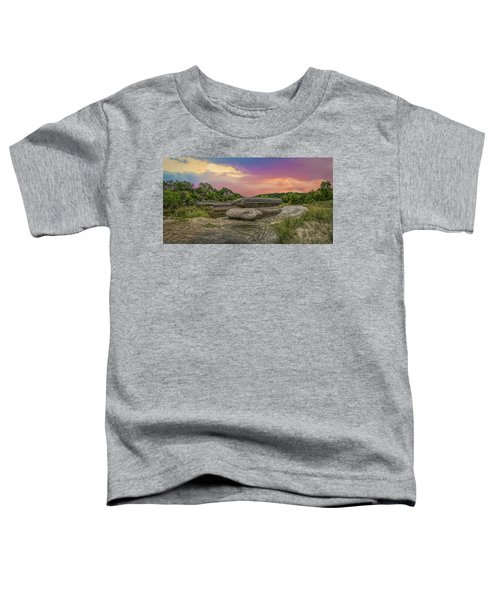River Erosion At Sunset Toddler T-Shirt