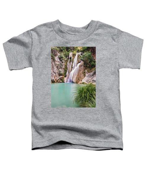 River Neda Waterfalls Toddler T-Shirt