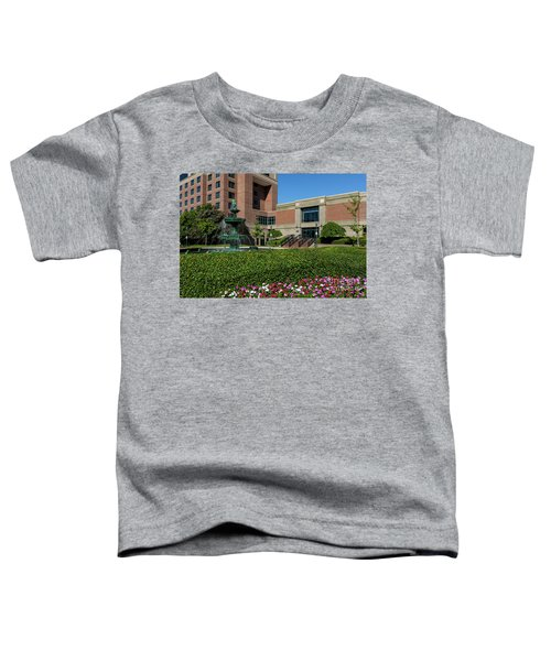Riverwalk Augusta Ga Fountain Toddler T-Shirt